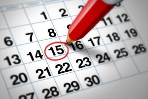 Sett av datoene, men vær OBS, det kan bli flyttet innenfor samme uken